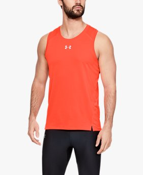 Men's UA Qualifier HexDelta Singlet